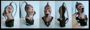 Hellraiser Wire twin bust by redtrackz