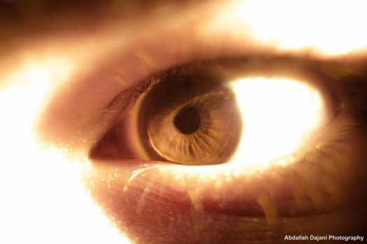 macro photography, the eye by ARTISTvrayLOVE