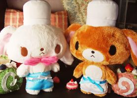 Sugarbunnies Twin Pastry Chefs by Kitty-Sprinkles