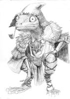 Frog Peasant by Windmaker