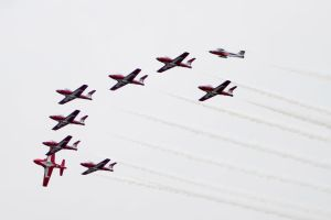 Canada day flypast by tdogg115