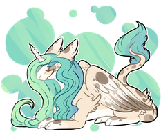 [OFFER] Pastel Dragon Queen [HOLD] by QuirkyAdopts