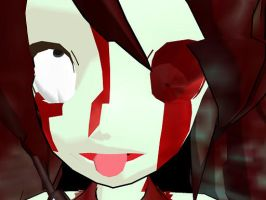 Evil Miku Zombie Close-up XD by YugiohFanatic789