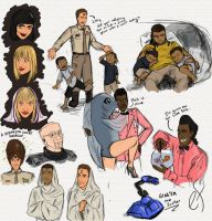 Red Dwarf Sketches 2 by Shanks-kun