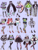SOLD- OutfitAdopts by Guppie-Adopts