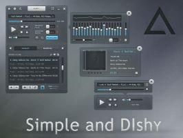 Simple and DIshy Skin for AIMP 3 by MrSebuhi