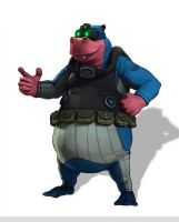 murray costume  in sly cooper thieves in time by FCC93