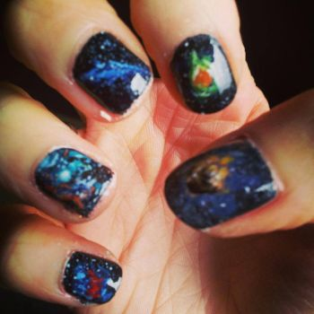 Nails right by git777