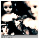 Doll Brushes by Scully7491