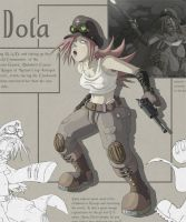 Artbook Page: Dola by radd