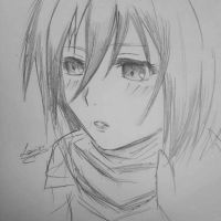 Mikasa by Lomier