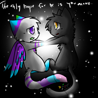 The Only Hope For Me.. by Kitzophrenic