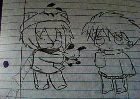 Sora and Shin by CassidyLynne1