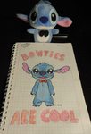 Stitch - Bow ties Are Cool by chibi95
