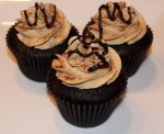 Mocha Cinnamon Cupcakes by Deathbypuddle