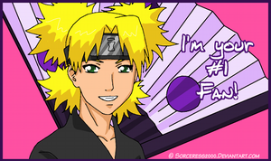 Valentines Day Card : Temari by Sorceress2000