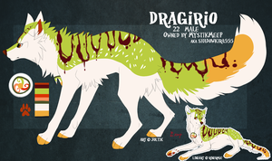 Dragirio (Dragon Roll) Art by Joltik by MystikMeep