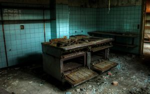 Korskro - Kitchen (Cross Inn - Denmark) by FlawlessMonkey