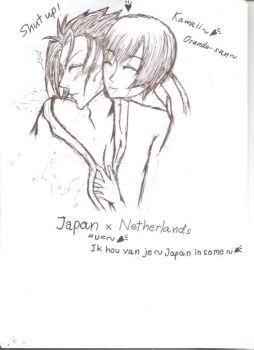 Netherlands (Seme!Japan XD XD *shot) by HumanIntheMirror