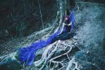 Blue Witch's Fall by MoofyModel