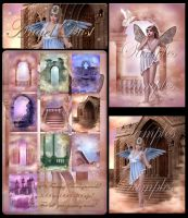Angel Dust backgrounds by moonchild-ljilja