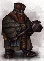 Dwarf Citadel Warrior II by Serg-Natos
