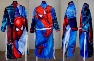 Amazing Spiderman Bath Robe from Beach Towels by digitalcitizen