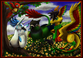 Birds of a Feather by JeMiChi