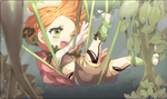 MS event: 02-B Shadow of the Hydrangeas by catne