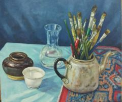 oil paint still life 05 by eveyap