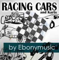 Racing cars by Ebonymusic
