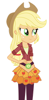 Applejack - Friendship Games by MixiePie