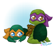 Love'em Turtletots! by Raphaelsgirl