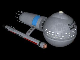 TOS-R Medusan ship by davemetlesits