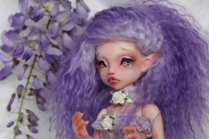 Glycine portrait by Patipat42dolls