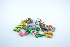 mixed board  games meeples by claymeeples