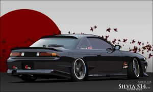 Nissan Silvia S14 by StefanMeijer