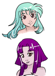 Tenchi's Daughters by flickrBLITZshimmer