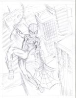 Spidey Sketch by KuddlyFatality