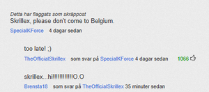 Skrillex commented on youtube! LOL by minniminnimi