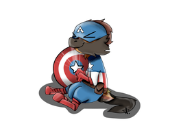 The winter soldier: Captain Amanska by PebbleToad