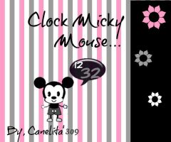 Clock Micky Mouse by SriitaDeWatt