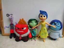 Inside Out large action figures by Sorath-Rising