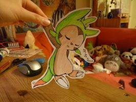 Welcome to the world [Chespin] by Rorosaur