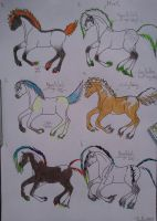 Foal Adoptables by Shelby-3000