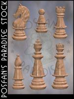 Chess Set 3 - 002 by poserfan-stock