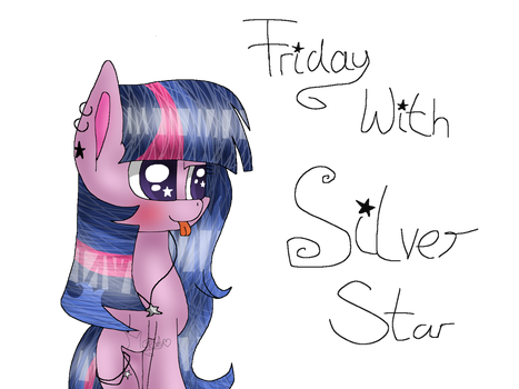 .:Oc:. Friday With Silver Star by Mlp-Magical-Melody
