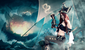 League of Legends - Miss Fortune cosplay 01 by CZSKLoLCosplayers