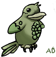 Pigeon Pea Fakemon by ArgentDandelion