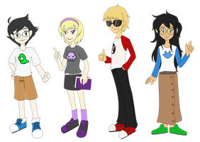 Digistuck -- Adventure 02 Betas by StarXrossed